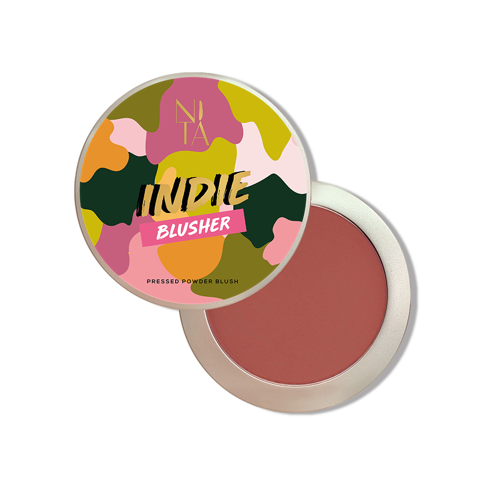 Indie Blusher in Matte Berry Brown