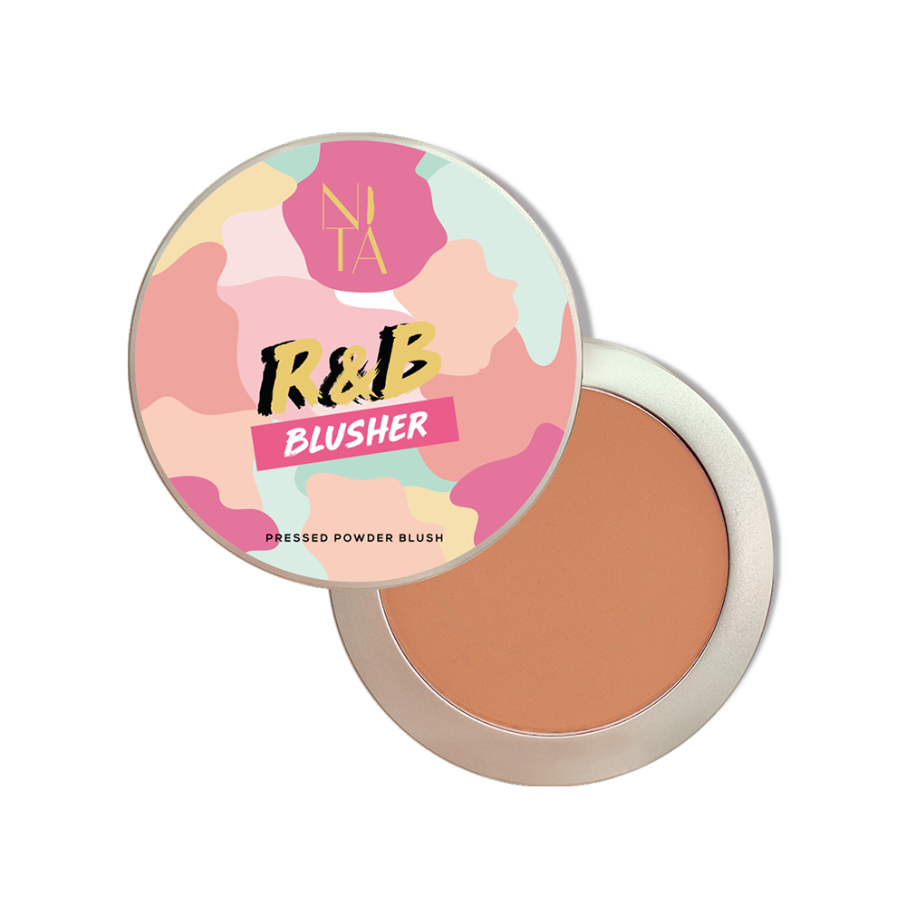 R&B Blusher in Matte Brown Sugar