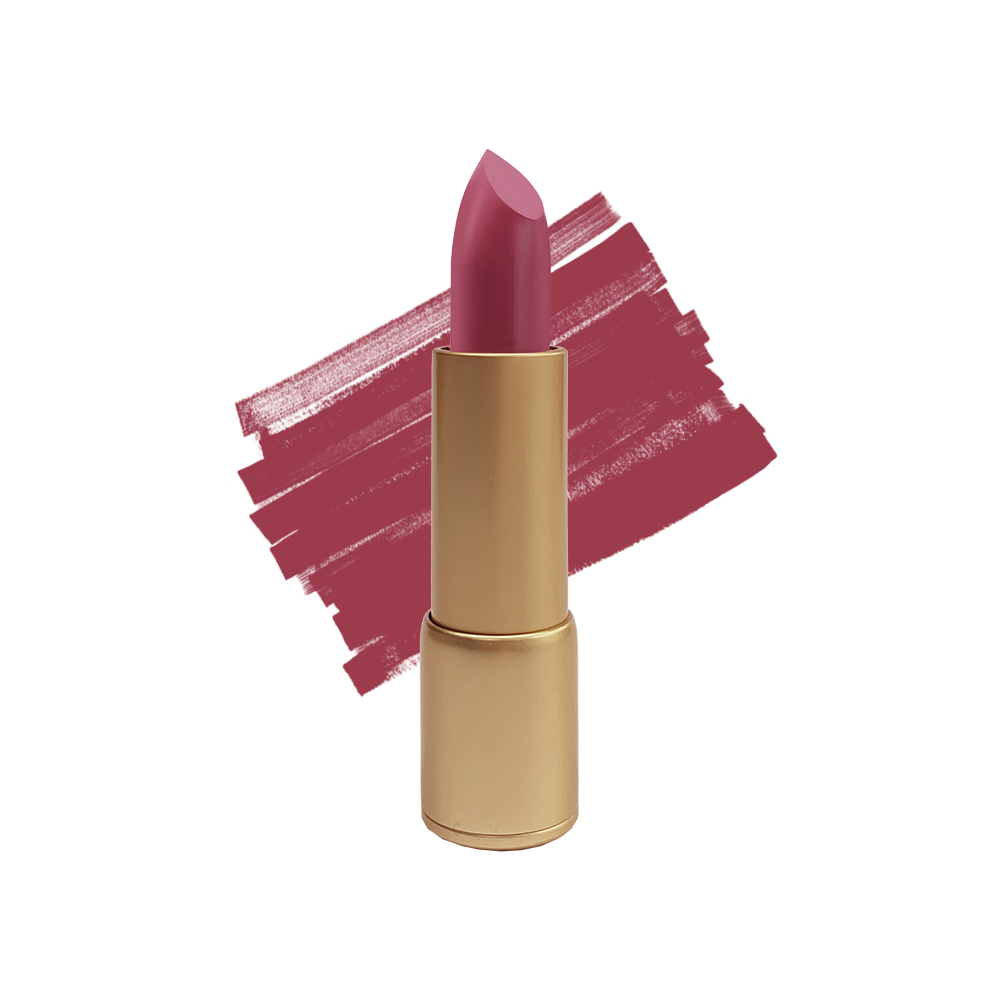 Ribeena Matte Bullet Lipstick in Burgundy Red