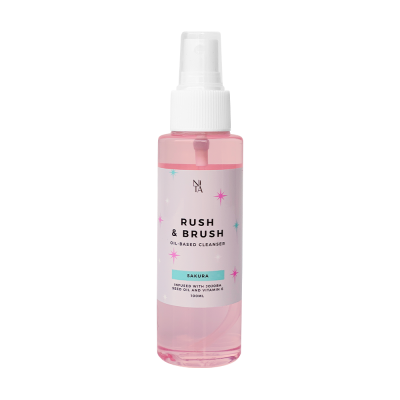 Rush & Brush Oil Based Cleanser - Sakura