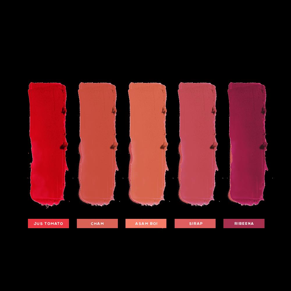 Ikat Tepi Mini Bullet Matte Lipsticks - Balik Kampung