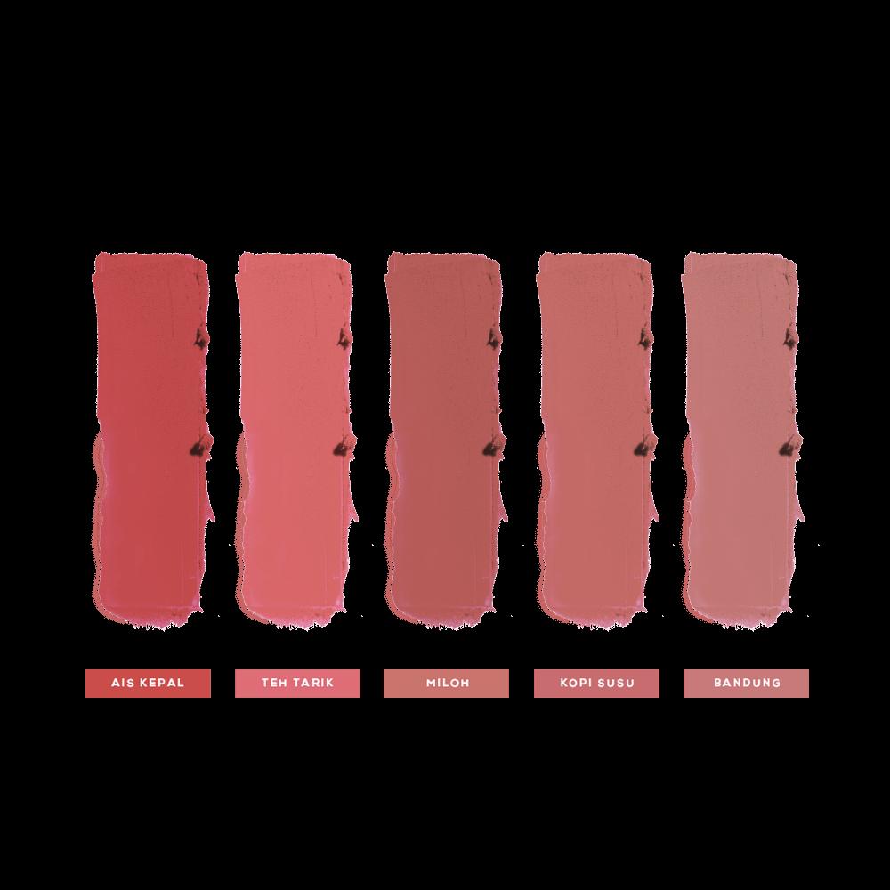 Tapau Mini Bullet Matte Lipsticks - Balik Kampung