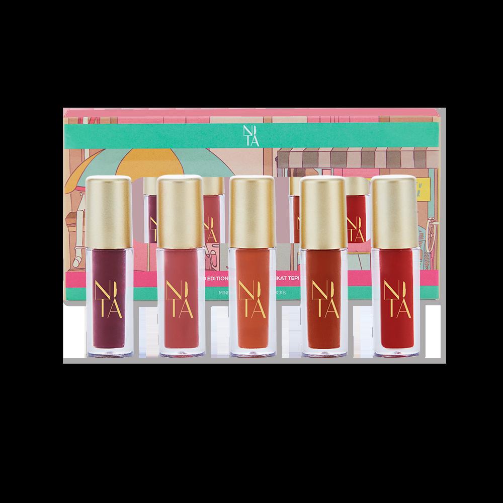 Ikat Tepi Mini Liquid Matte Lipsticks - Balik Kampung