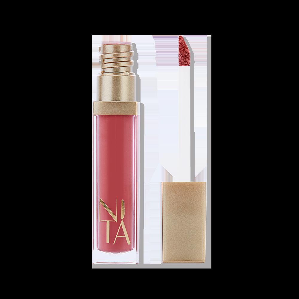 Ais Kepal Matte Liquid Lipstick in Plum Nude