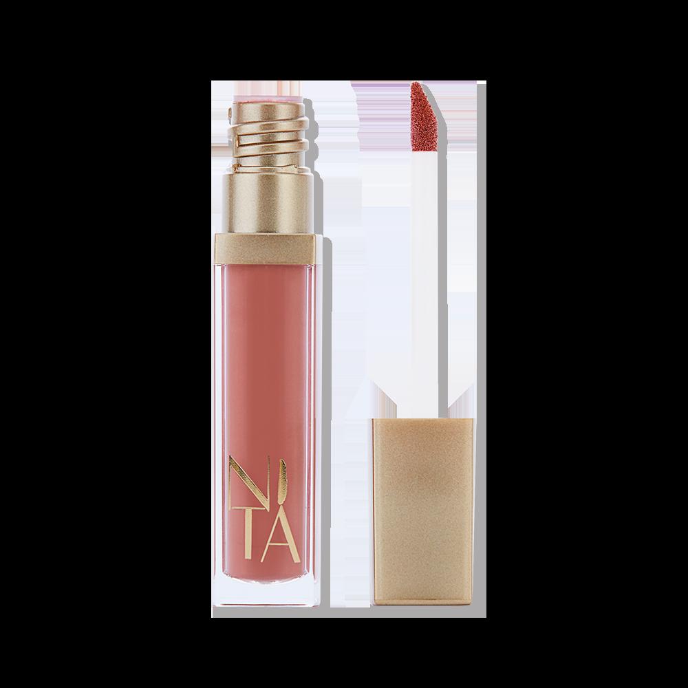 Bandung Matte Liquid Lipstick in Blush Nude