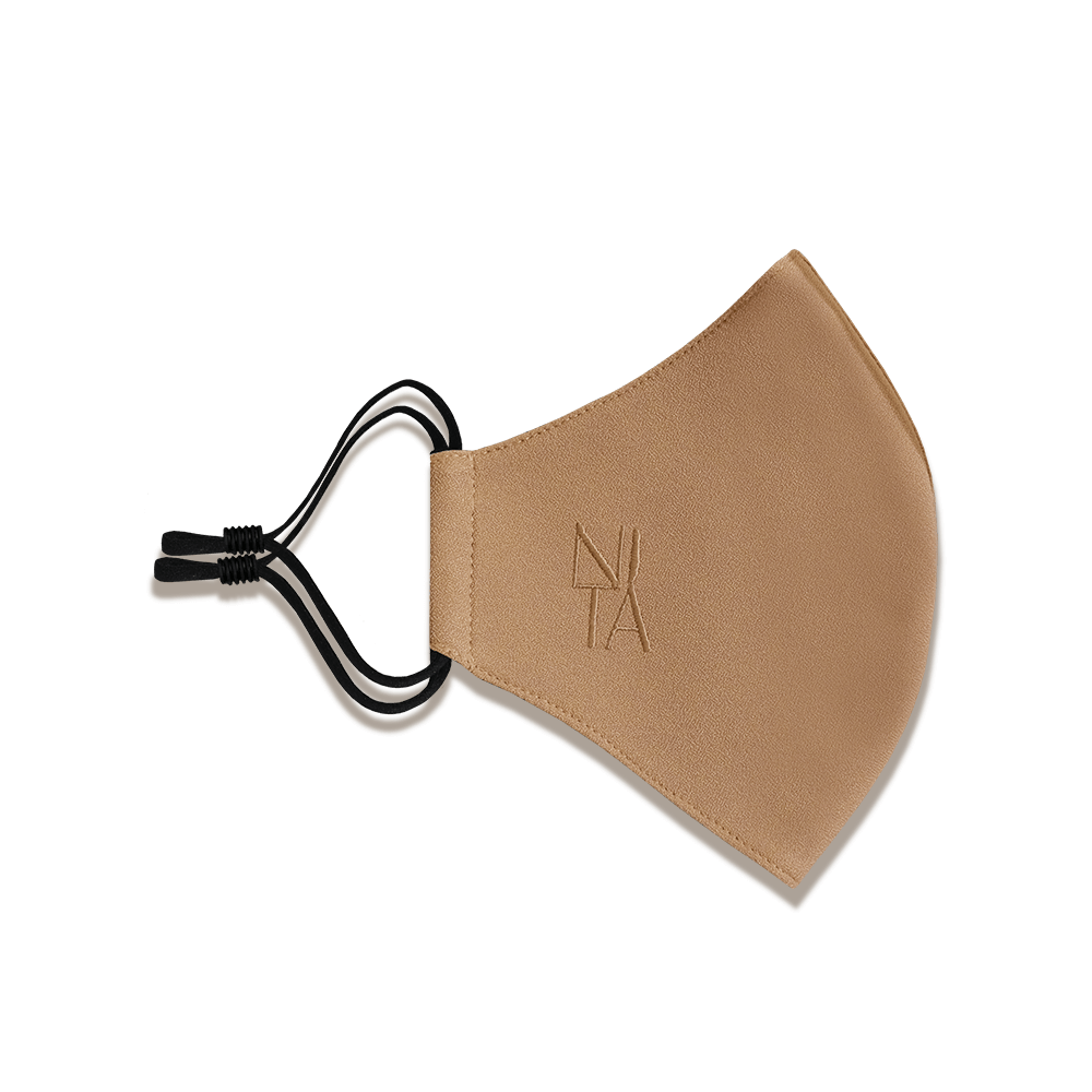 Foundation Face Mask with Earloop in Almond