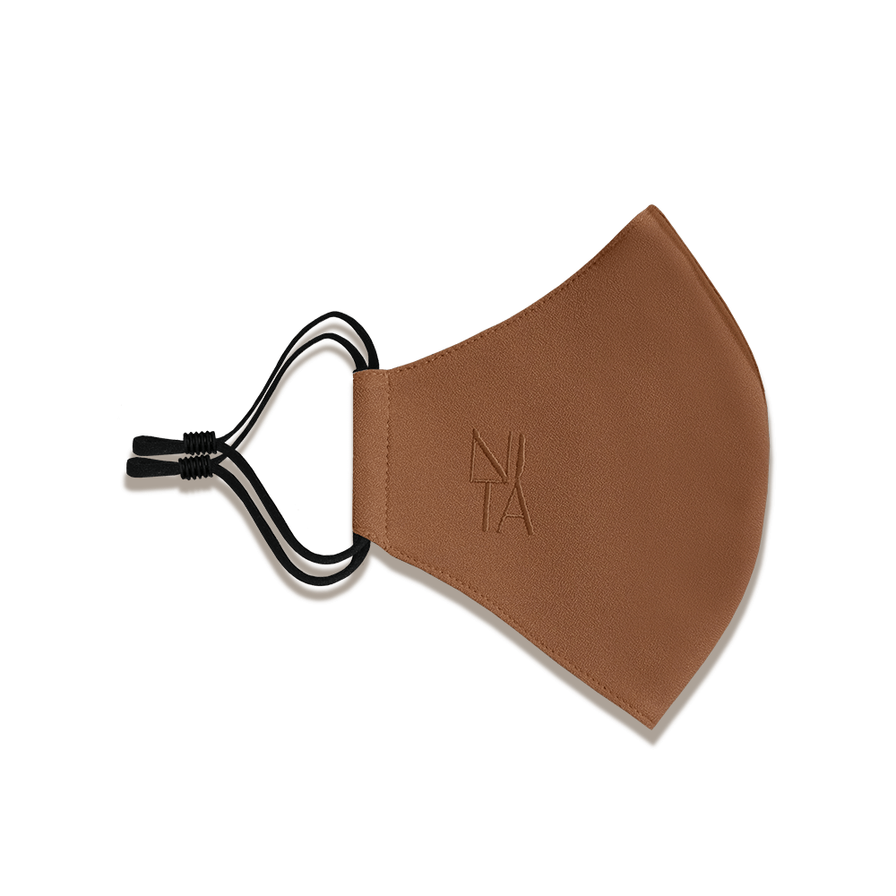 Foundation Face Mask with Earloop in Toffee