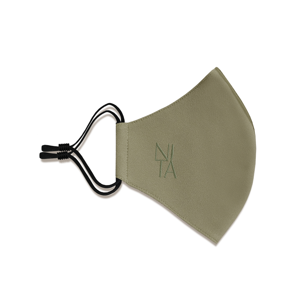 Foundation Face Mask with Earloop in Olive