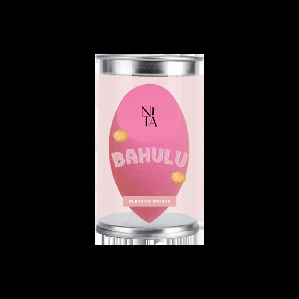 Bahulu Kustard Blending Sponge in Pastel Pink