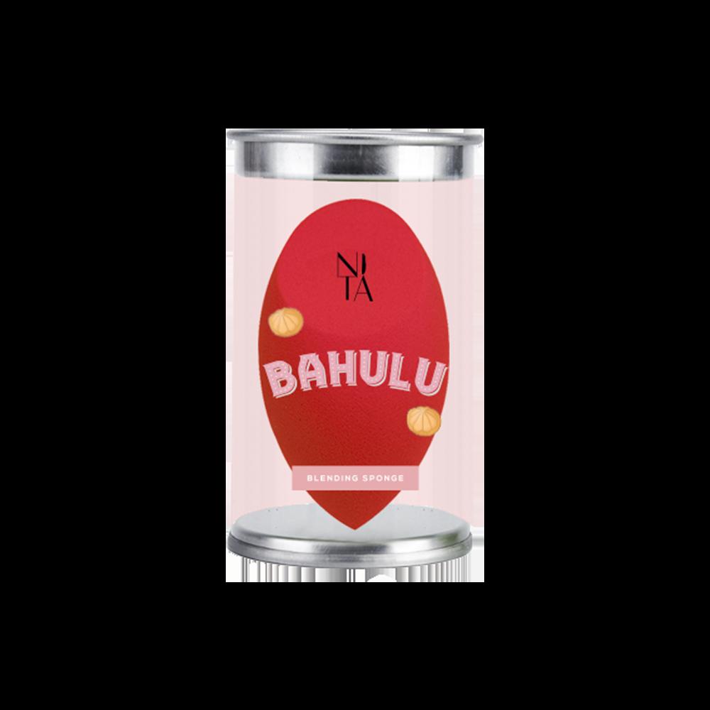 Bahulu Rose Blending Sponge in Red